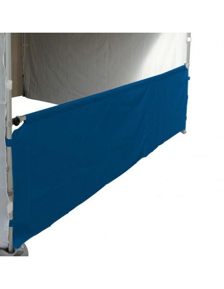 Demi-paroi en 380gr/m2 de 3m pour barnum pliant