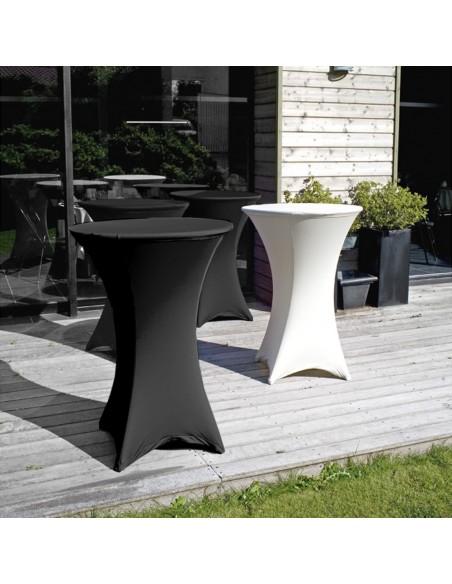 Table haute mange-debout en polyéthylène haute densité