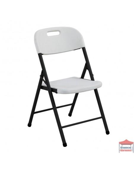 Lot de 4 chaises pliantes pour vos réceptions en polyéthylène moulé haute densité