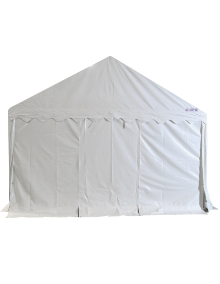 Tente de réception - Chapiteau de festivités MEDIUM en PVC de 4m x 10m avec Tubes de 38mm