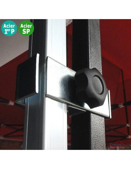 Module de jonction pour assembler 2 barnums pliants Acier Eco et/ou Acier Semi Pro et de rigidifier votre installation