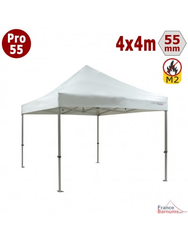 Barnum professionnel 4x4 avec bâche de toit en PVC 580g/m2