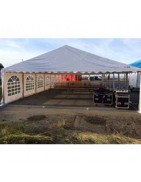 Tente de réception - Chapiteau PREMIUM en PVC de 7m x 15m - Festival Cirque & Mer 2016