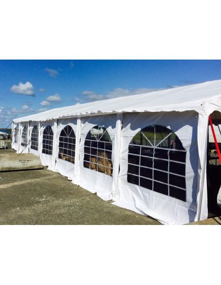 Tente de réception - Chapiteau PREMIUM en PVC de 6m x 14m avec Tubes de 50mm