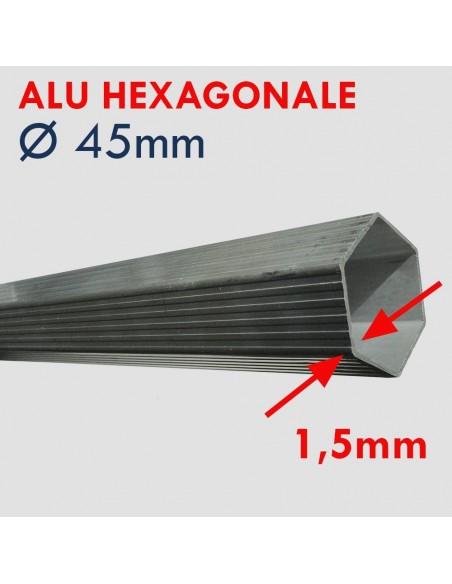 Barnum pliant - Tente pliTente pliante Alu Pro 45 ECO avec structure en aluminium de 45mm de diamètre et de 1,5mm d'épaisseurant