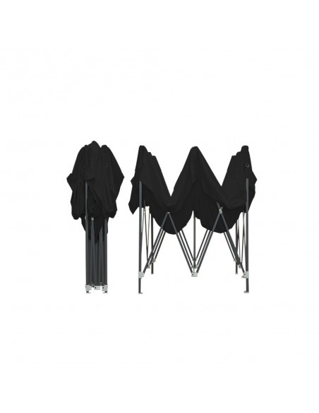 Barnum pliant - Tonnelle Acier Semi Pro 2mx2m NOIR
