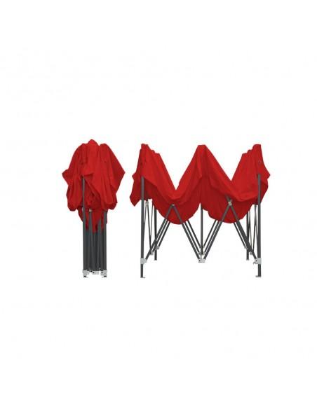 Barnum Acier Semi Pro Rouge 3x3m plié