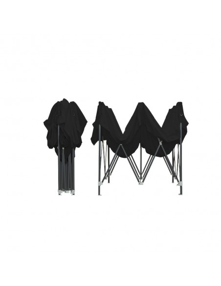 Barnum Acier Semi Pro Noir 3x3m plié
