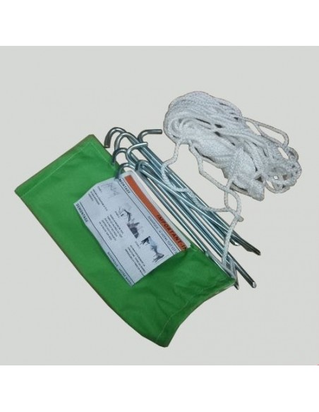 Kit d'arrimage offert avec notre barnum pliant Alu Pro 45 ECO