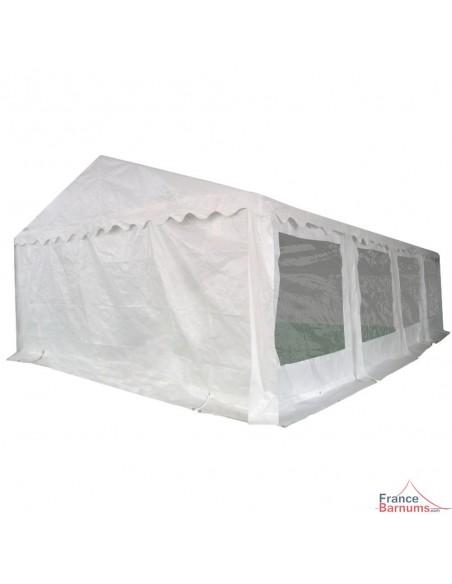Tente de réception - Chapiteau ECO en PE de 40m² avec Tubes de 38mm