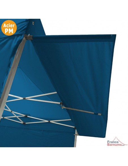 Casquette extension soleil pour barnum pliant Acier Premium