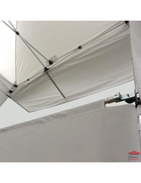 Casquette extension soleil 4m pour barnum pliant Alu Pro 45 ECO
