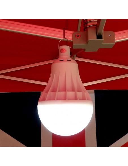 lampe LED sans fil pour barnum pliant