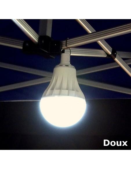 """éclairage en mode """"DOUX"""" de notre lampe LED USB 95W à suspendre"""