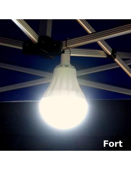 """éclairage en mode """"FORT"""" de notre lampe LED USB 95W à suspendre"""