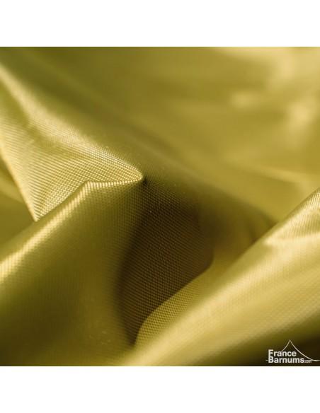 Bâche Polyester 380g/m² norme M2 vert doré