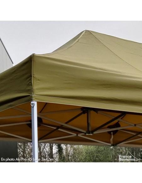barnum vert doré pliant en aluminium de qualité professionnelle