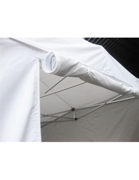 Tente pliable Chapiteau pliant Professionnel Alu Pro 45 LUXE avec bâches normalisées anti-feu