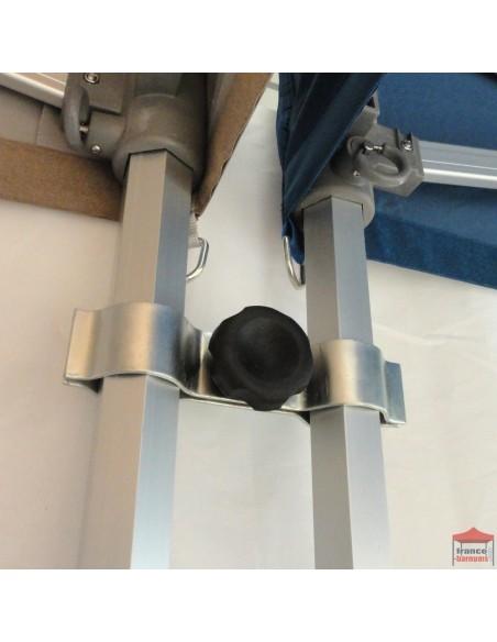 Module de jonction permettant d'assembler et de maintenir deux structures de barnums Acier Premium, Alu Semi Pro et Alu Pro 45