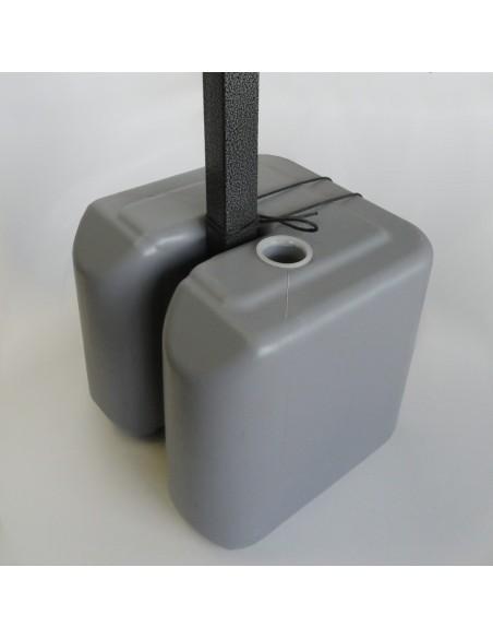 Pack de 4 LESTS 10KG à remplir pour barnum Eco et Acier Semi Pro