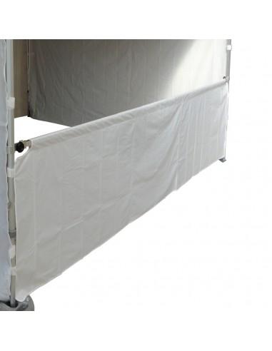 Demi-paroi de 3m en 580gr/m² pour barnum pliant