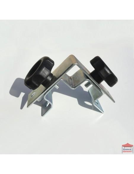 Connecteur d'angle pour barnum pliant de la gamme Acier Loisirs ou Acier Semi Pro