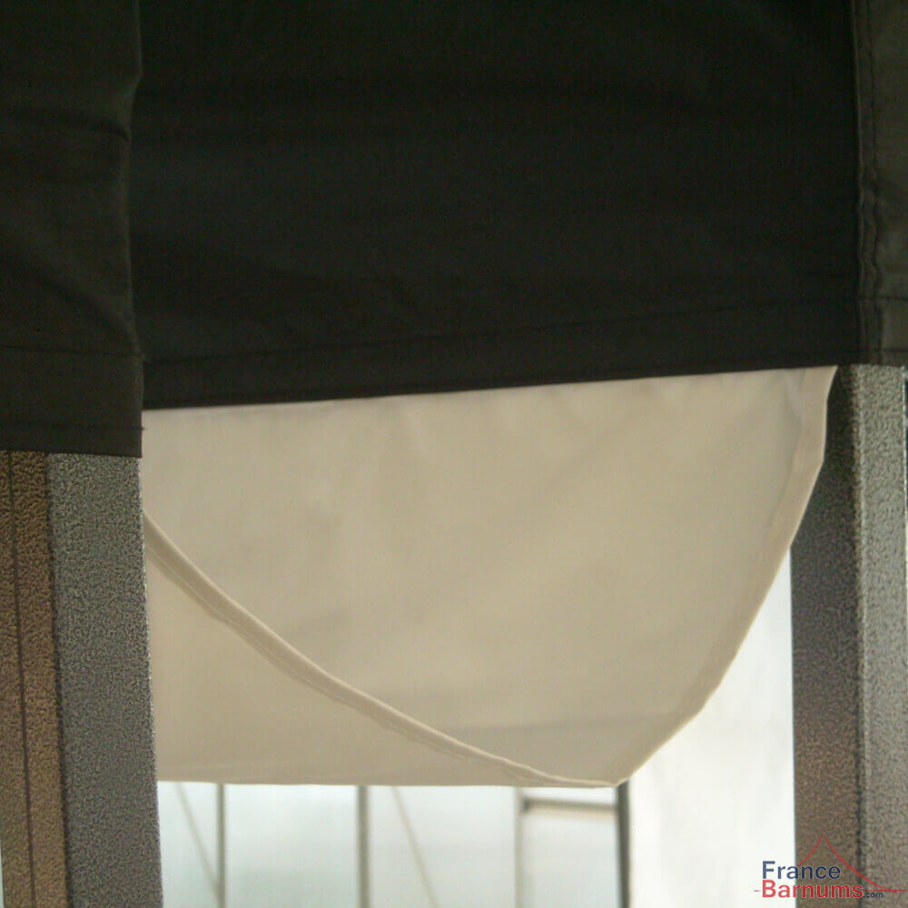 Gouttière de 6m à positionner entre deux tentes pliantes