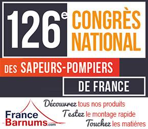 France-Barnums au 126ème Congrès des Sapeurs Pompiers du 18 au 21 septembre  2019 à Vannes